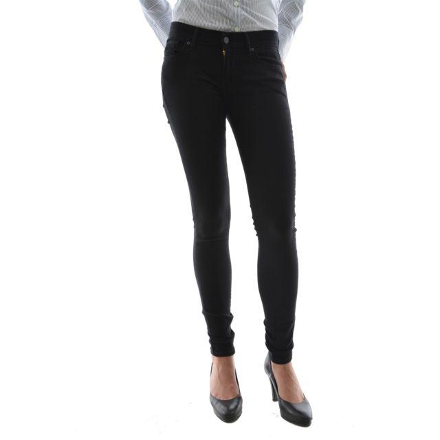 bd5f8ce8a2e1d Levi's - Jeans levis 711 skinny bleu - pas cher Achat / Vente Jeans ...