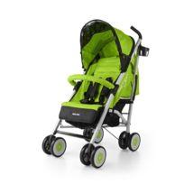 Milly Mally - Poussette canne compacte enfant bébé 6m+ avec équipement Meteor | Verte