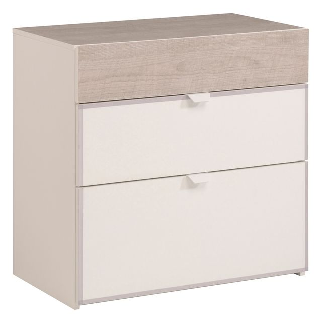 Last Meubles Commode 3 tiroirs Homer