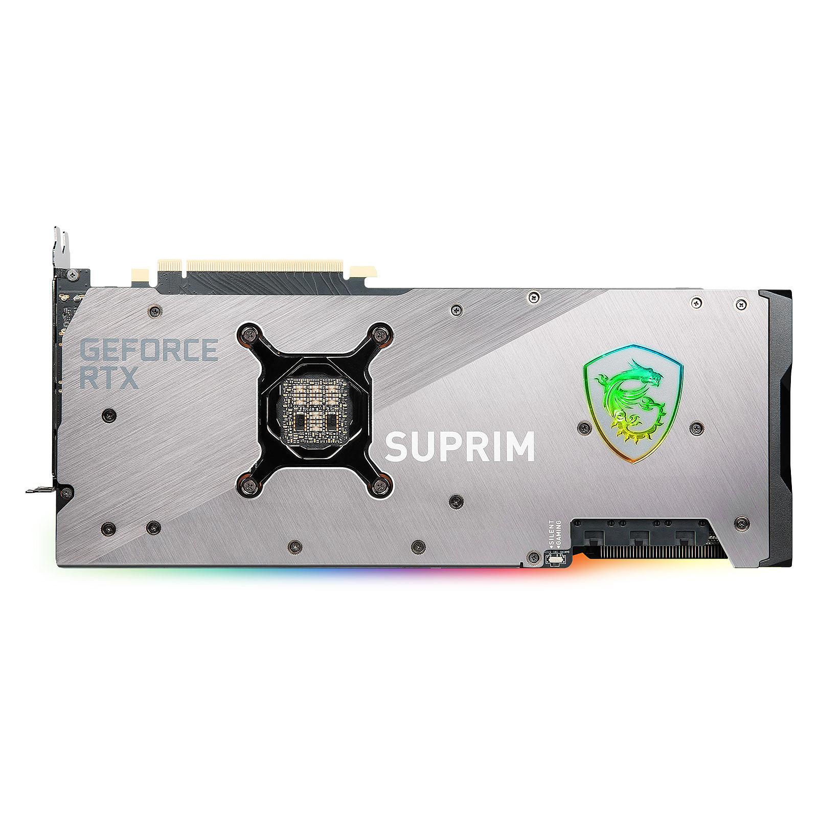 GeForce RTX 3080 SUPRIM X - Triple Fan - 10Go