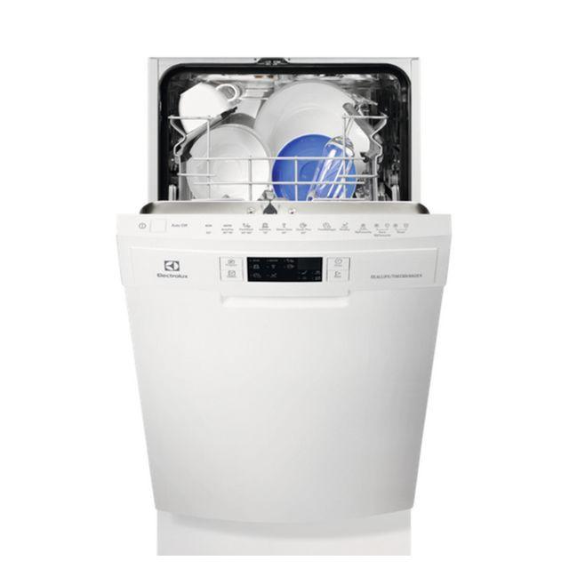 electrolux lave vaisselle 45cm 9c 44db a int grable avec bandeau blanc esf4661row achat. Black Bedroom Furniture Sets. Home Design Ideas