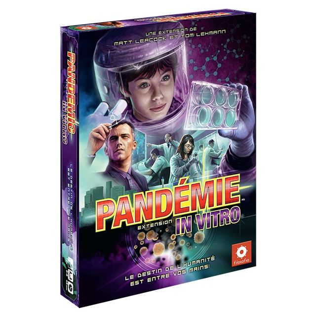 Filosofia - Jeux de société - Pandemie - In Vitro