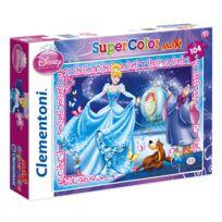 Clementoni - Puzzle 104 pièces maxi : Princesses Disney : Cendrillon