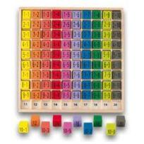 Ulysse Couleurs d'Enfance - Table d'additions couleur en bois