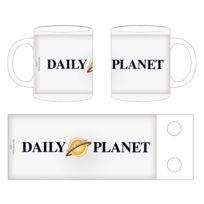 Star Images - Superman Man Of Steel - Mug Daily Planet