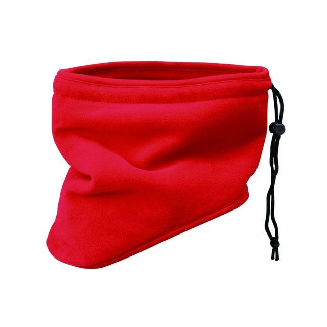 Myrtle Beach - Tour de cou écharpe cache-nez polaire - Mb7930 - rouge 3194954ee9d