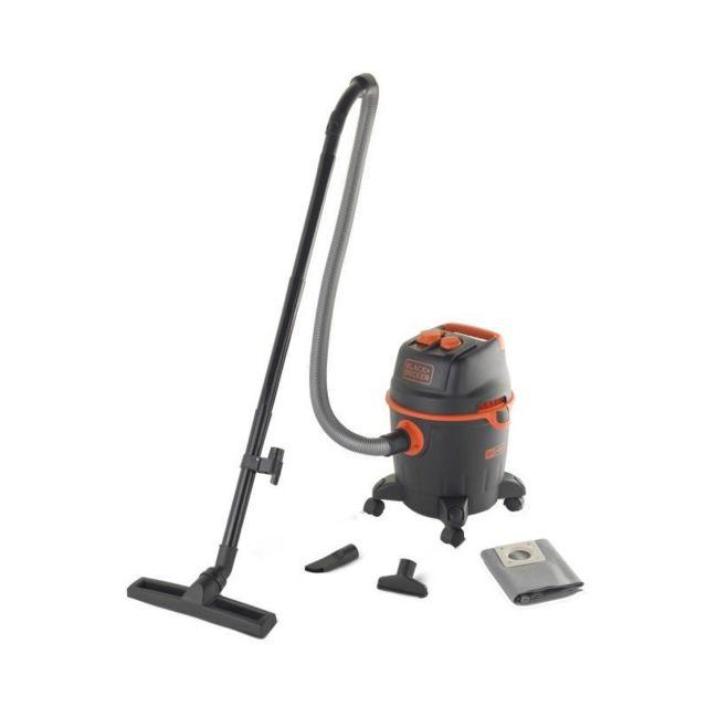 Black & decker aspirateur eau et poussiere 1200 w cuve 20 l