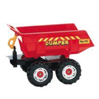 Falk - Remorque Dumper Maxi 4 roues