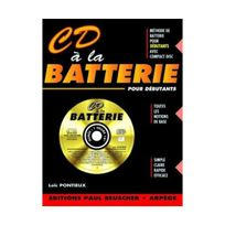 Paul Beuscher - Partition : Cd a la batterie L. Pontieux