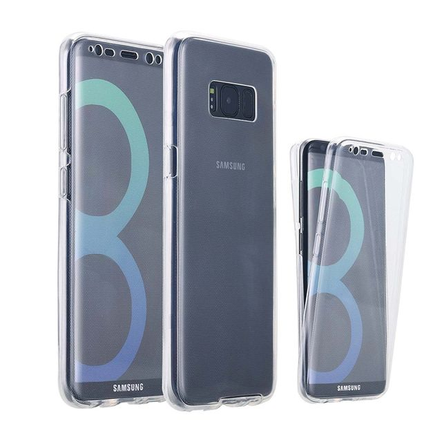 cabling coque integrale pour samsung s8 en silicone transparent pas cher achat vente. Black Bedroom Furniture Sets. Home Design Ideas