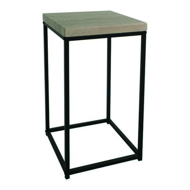 Table Contemporaine SéjourBureau Pour Basse Pictor TableSupportCafèMeuble NoirBois VzGqpLUSM