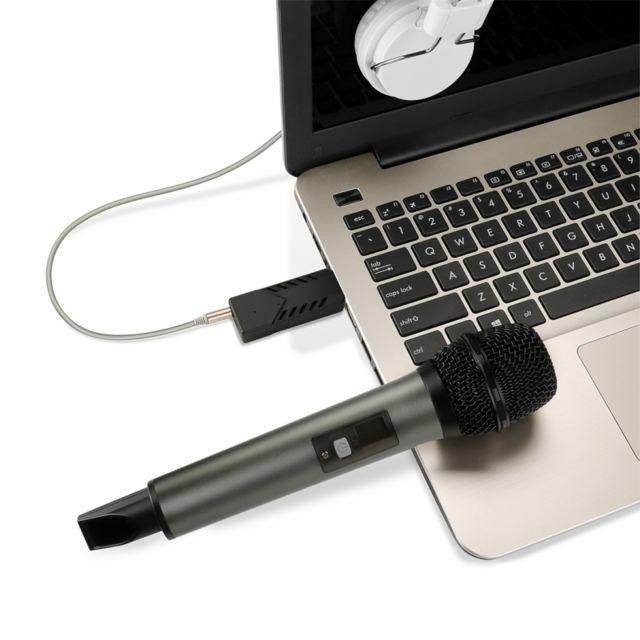 Wewoo Micro Sans Fil Pour Ordinateur Portable Pc Haut Parleur