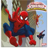 Marvel Comics - Serviettes Ultimate Spiderman Web Warriors x20