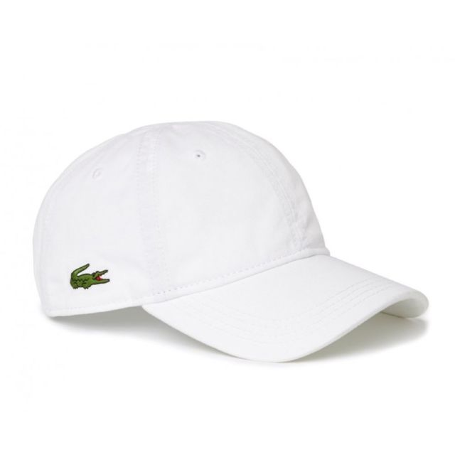 plus récent 9c433 f5160 Lacoste - Homme - Casquette baseball blanche small Croco ...