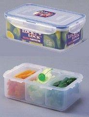 Lock & Lock Boîte à Compartiments 1 Litre