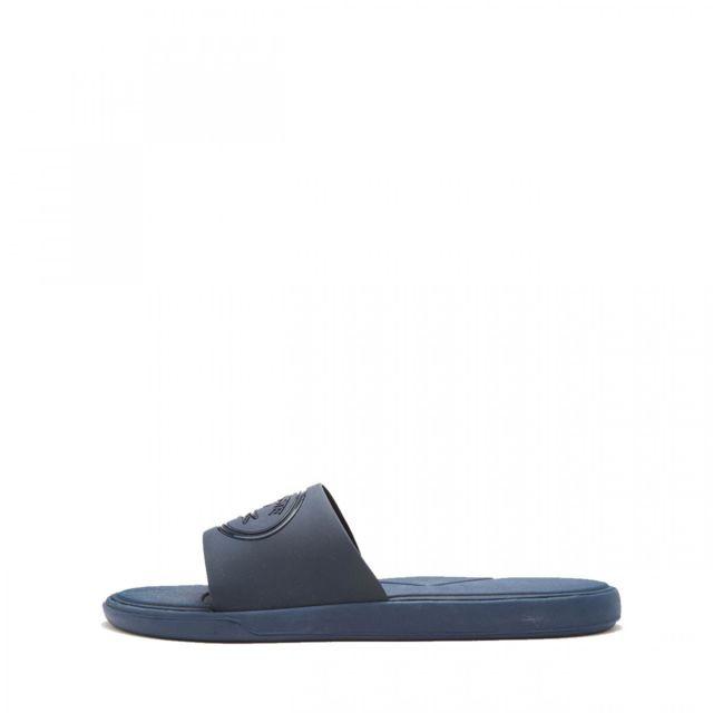 ed02cabed18 Lacoste - Sandale L.30 Slide 318 1 Cam - 736CAM004595K - pas cher Achat   Vente  Sandales et tongs homme - RueDuCommerce