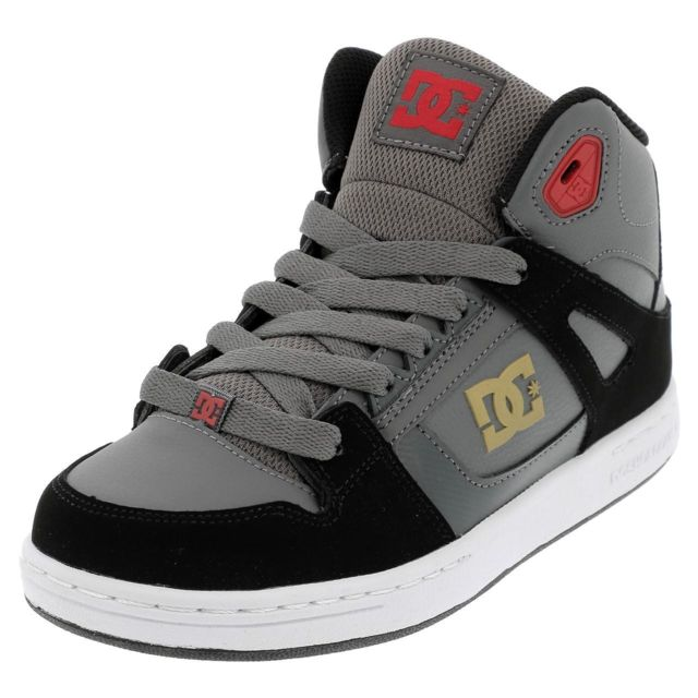 Mid Shoes Chaussures 39478 Pure Gris Mi High Dc Montantes Top wxIUBx4