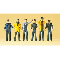 Preiser - Modélisme Ho : Figurines - Marins