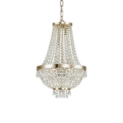 boutica design lustre caesar or 6x40w ideal lux 114729 pas cher achat vente. Black Bedroom Furniture Sets. Home Design Ideas