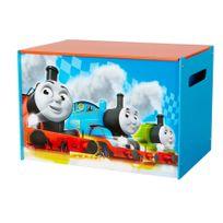 Comforium - Coffre à jouets enfant design Thomas le train
