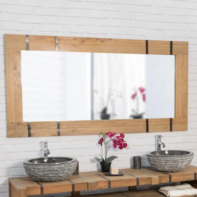 Wanda Collection Miroir de salle de bain 160 Loft naturel
