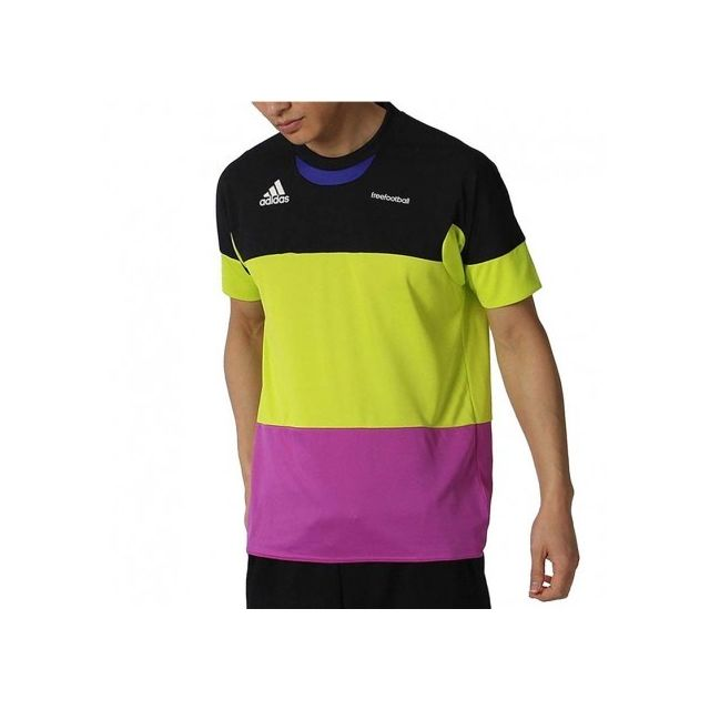 Adidas originals - Maillot Football Freefootball Noir Homme Adidas
