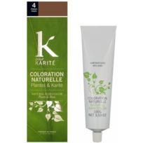 K pour Karité - Coloration Naturelle Chatain Moyen N°4 - Plantes & Karité