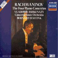 Decca - Serge Rachmaninov - Concertos pour piano et orchestre nos. 1 à 4 intégrale