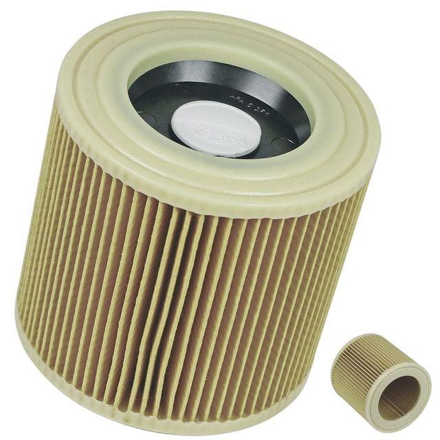 K/ärcher 6.414-552.0 Filtre /à plis cylindrique pour aspirateur multifonction K/ärcher