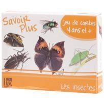 """France Cartes - INSECTES - Jeu """"""""LES Savoir Plus"""