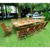 grande table de jardin - achat grande table de jardin pas cher