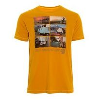 Ternua - Tee-shirt Elber manches courtes moutarde