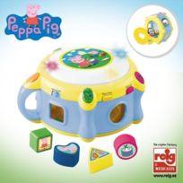 Startrade - Peppa Pig Tambour Electronique avec Formes