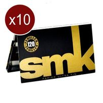 Smk - Lot De 10 Carnets Feuilles Regular Double 120F/CARNET