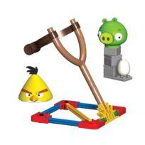 Angry Birds - T72601 - Jeu De Construction - Yellow Birds Vs Medium Minion Pig