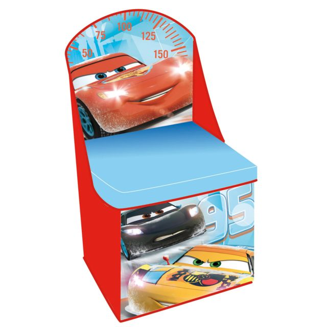 Fun house chaise de rangement cars