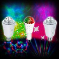Inolights - Lot de 3 ampoules à effets lumineux spécial effet Magic