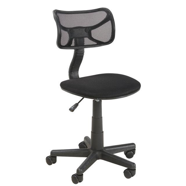 MARQUE GENERIQUE Chaise de bureau - Mesh noir - SC8216-LA Chaise de bureau design et confortable.