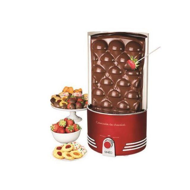SIMEO Cascade Chocolatée Rétro-Séries FCH650