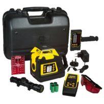 Stanley - Niveau laser rotatif double pentes automatique Rl Hgw