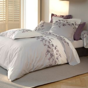 tradition des vosges housse couette printemps percale 80fils 200x200 pas cher achat vente. Black Bedroom Furniture Sets. Home Design Ideas
