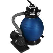 Rocambolesk - Superbe Pompe filtre à sable et particule 10200 l/h avec sa pompe et ses accessoires Neuf