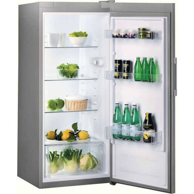 Indesit Réfrigérateur 1 porte - SI41S - Argent