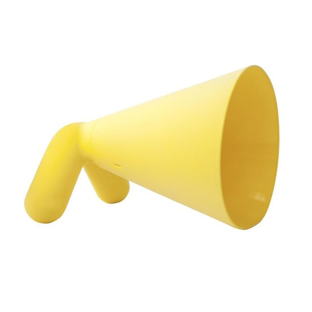 Pop Corn - Yorki - Lampe à poser Jaune H23cm - Lampe à poser designé par Hlynur Atlason