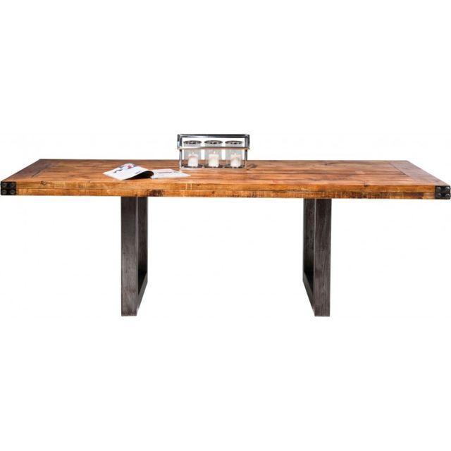 Table A Manger Industrielle Pas Cher.Table Industrielle Off Road 220x100cm Kare Design