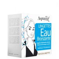 Aquatéal - Lingettes Eau Bronzante