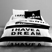 Bonareva - Housse de couette - 220 x 240 cm + taies - I have a dream
