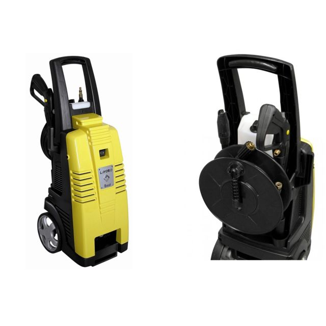 lavor - nettoyeur haute pression 160 bars 2500w 510l/h + enrouleur