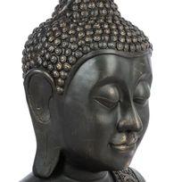 Statue bouddha achat statue bouddha pas cher soldes for Tete bouddha pour jardin