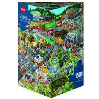 Amix - Puzzle 1500 pièces : Embouteillage, Schone